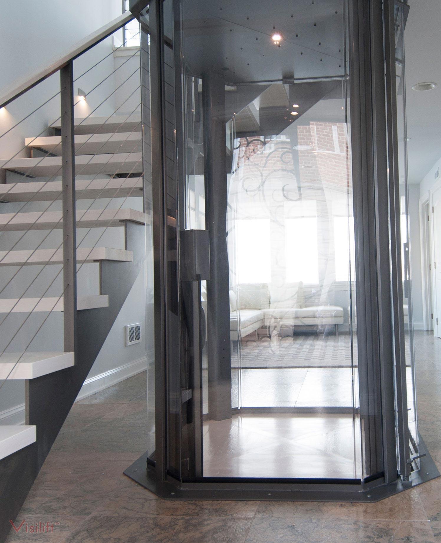 Glass Cable Elevator Octagonal Elevators Nationwide