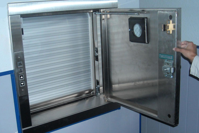 Commercial elevators passenger freight elevator designs for Exterior dumbwaiter