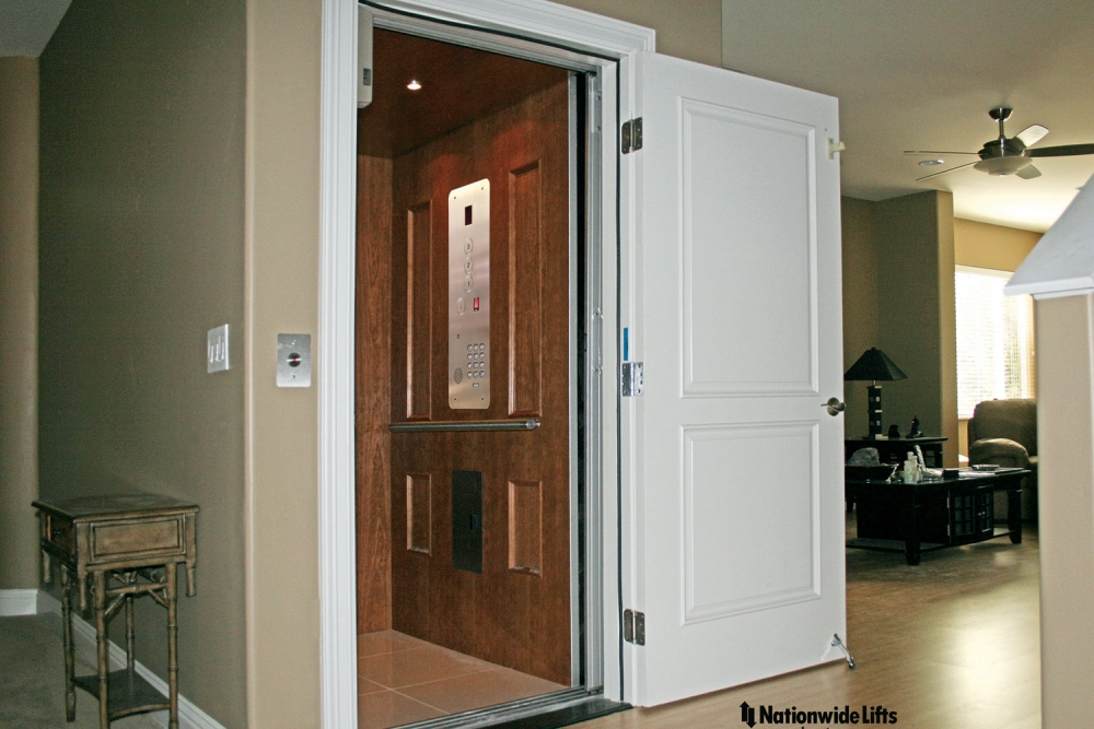 Home elevator dimensions home remodeling and renovation Homes with elevators for sale