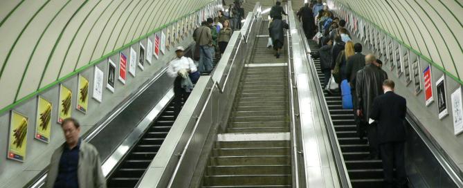 London-Escalators