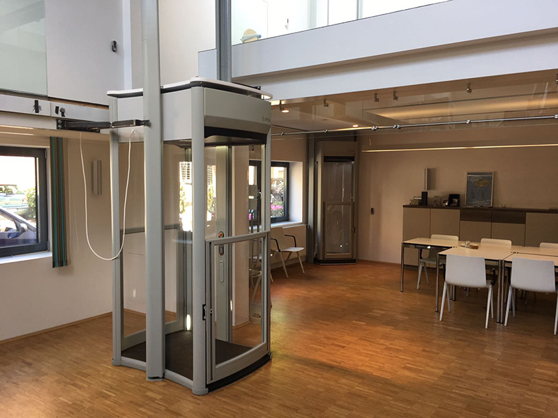 Shaft-Less Trio elevator