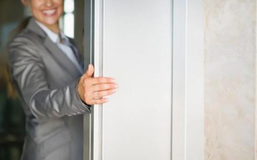 doors and elevator etiquette