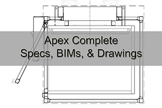 Apex Complete Specs, BIMs, & Drawings