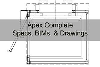 Apex Complete Specs, BIMs, & Drawings