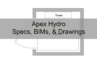 Apex Hydro Specs, BIMs, & Drawings