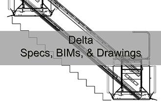 Delta Specs, BIMs, & Drawings