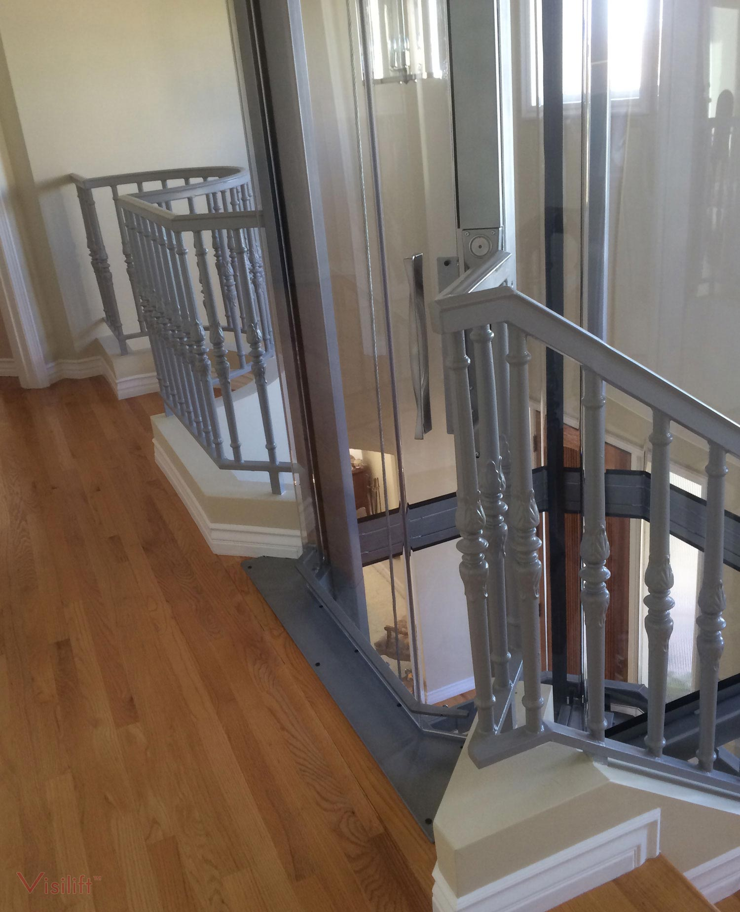 Glass cable elevator octagonal elevators nationwide for Cheap home elevators