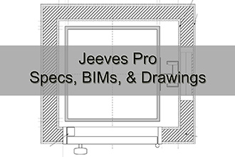 Jeeves Pro Specs, BIMs, & Drawings