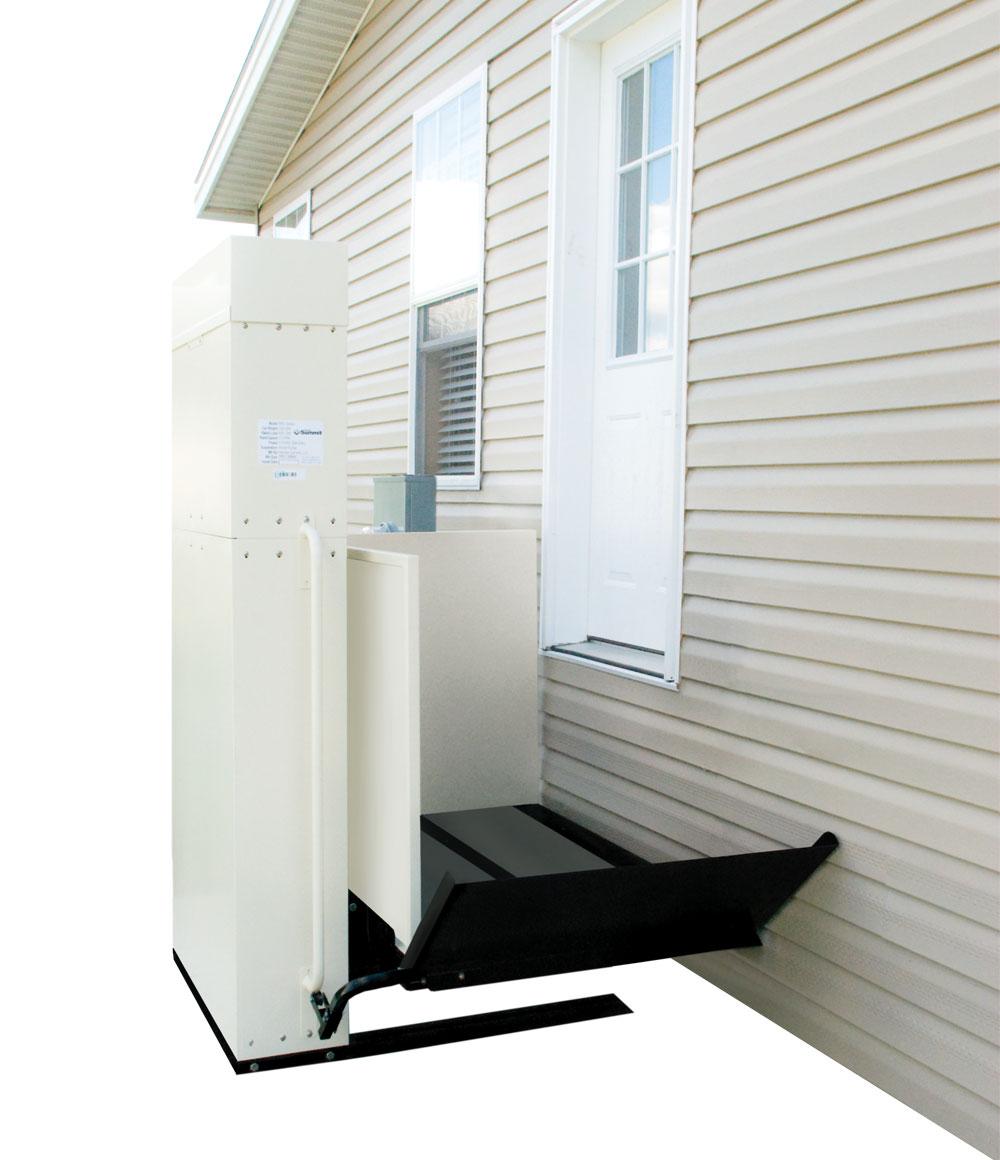 6-Foot Porch Lift | Vertical Platform Lift | Nationwide Lifts