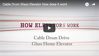 Cable Drum Glass Elevator How Does It Work