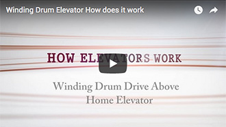 Winding Drum Elevator How Does It Work