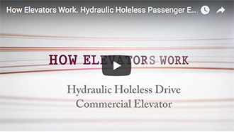 Hydraulic Holeless Passenger Elevator How Does It Work