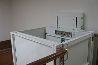 Vertical Wheelchair Lift With Enclosure